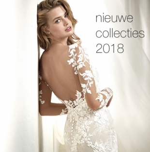 Bruidsmode 2018 collecties